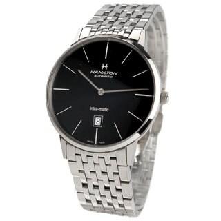 Hamilton Men's H38755131 Intra-Matic Silver Watch