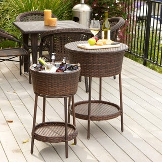 Christopher Knight Home Phaedra Wicker Bucket 2-piece Set