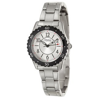 Caravelle by Bulova Women's 'Sport' Stainless Steel Japanese Quartz Watch