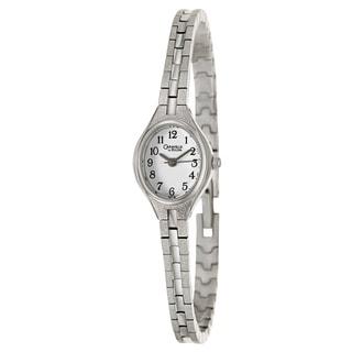 Caravelle by Bulova Women's 47E05 'Dress' Stainless Steel Japanese Quartz Watch