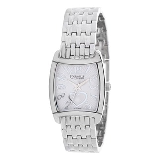 Caravelle by Bulova Women's 'Dress' Stainless Steel Japanese Quartz Watch