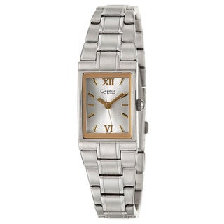 Caravelle by Bulova Women's 'Dress' Goldtone Stainless Steel Japanese Quartz Watch