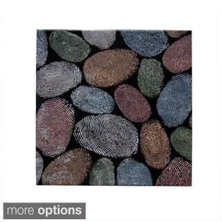 Ceramic Wall Tile Multi-Color Fingerprints (Pack of 20)