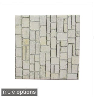 Ceramic Wall Tile Brick Cobblestone Texture (Pack of 20).