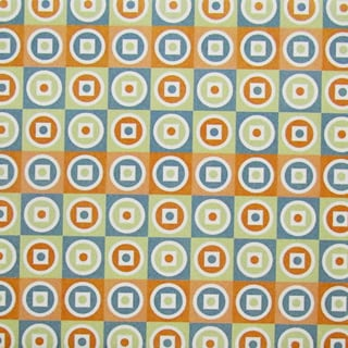 Ceramic Wall Tile Colorful Pattern with Rows of Circles (Pack of 20)