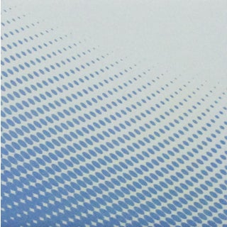 Ceramic Wall Tile Shades of Blue Halftone Ocean Wave Effect (Pack of 20).