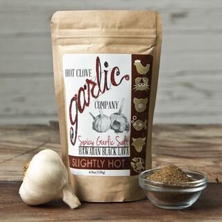 Spicy Garlic Salt with Hawaiian Black Lava Salt