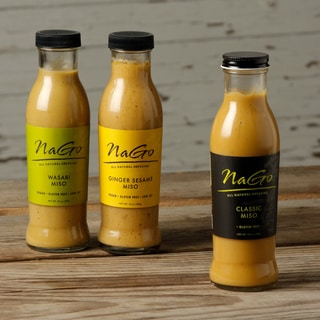 Nago All Natural Miso Dressings (Pack of 3)