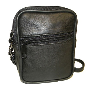 Hollywood Tag Lambskin Anti-theft Leather Side Bag