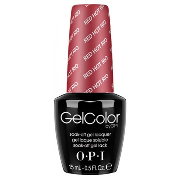 OPI Red Hot Rio GelColor