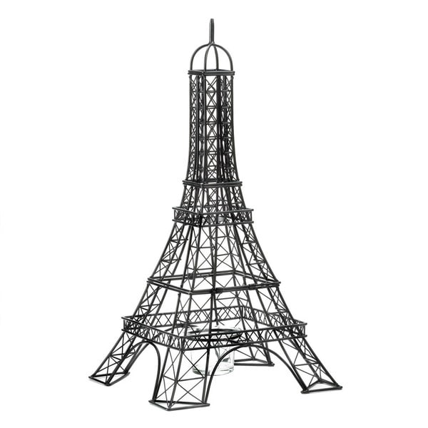 Black Eiffel Tower Candle Holder