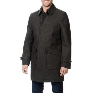 Nautica Men's Charcoal Stadium Coat