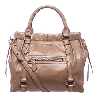 Miu Miu 'Lux' Taupe Vitello Leather Tote