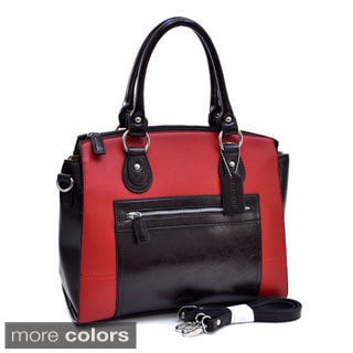 Dasein Two-tone Square Satchel