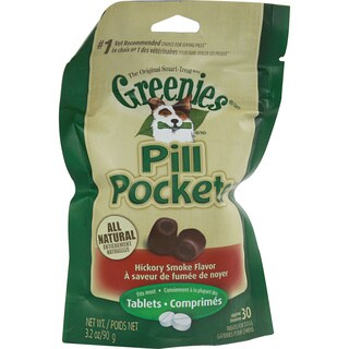 Greenies Pill Pockets Hickory Smoked Treats