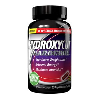 Hydroxycut Hardcore with Green Coffee (60 Rapid Release Capsules)