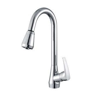 Ruvati Polished Chrome Pull-out Spray Kitchen Faucet