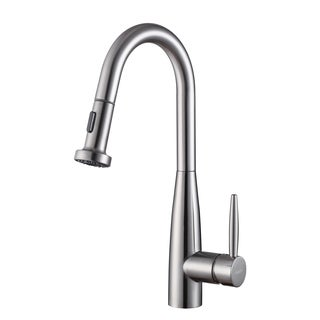 Ruvati RVF1229ST Stainless Steel Pullout Spray Kitchen Faucet
