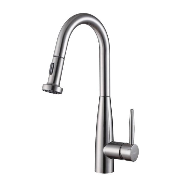 ruvati rvf1229st stainless steel pullout spray kitchen