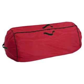 Holiday Red Heavy-duty Christmas Storage Bag
