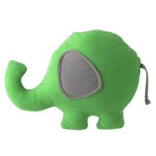 Superflykids 'Ellephontay' Green/ Grey Large Plush Elephant Toy