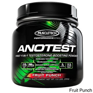 MuscleTech Anotest 4-In-1 Testosterone Boosting Powder (40 Servings)