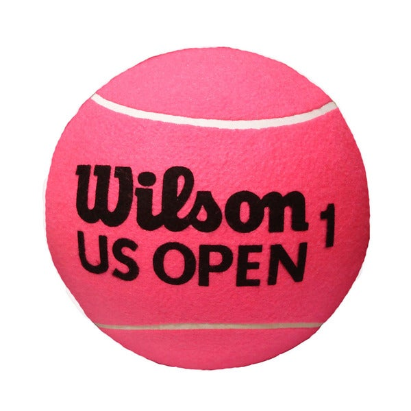 Wilson US Open Jumbo 9-inch Pink Tennis Ball