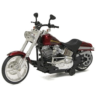 12-inch Battery Operated Harley Davidson Softail Motorcylce