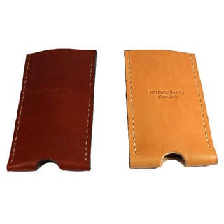 Hand-stitched Fine English Bridle Leather iPhone Slip