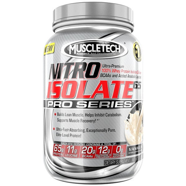 MuscleTech Nitro Isolate 65 2.1-pound Dietary Supplement