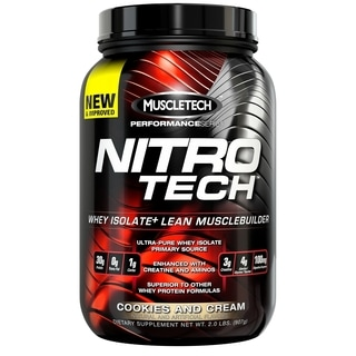 MuscleTech Nitro-Tech Musclebuilder Protein Powder