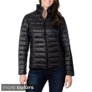 Nuage Leonardo Women's Stand Collar Faux Down Jacket