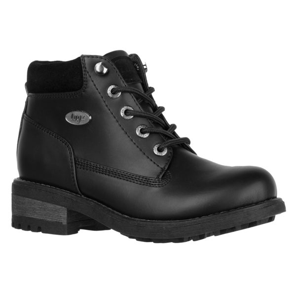 Lugz Women 'Sophia' Black Lace-up Ankle Boots