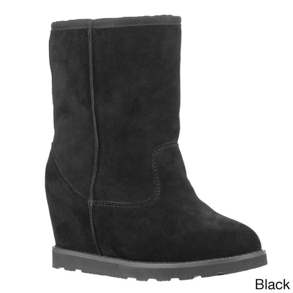 Lugz Women 'Chakra' Suede Hidden Wedge Ankle Boots