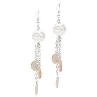 Karla Patin 'Waterfall' Dangle Earrings