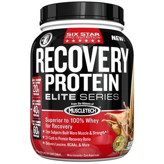 Six Star Pro Nutrition Elite Series Recovery Chocolate Protein Powder (2 Pounds)