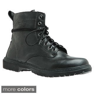 Hey Dude Shoes Men's 'Potenza' Leather Lace-up Boots