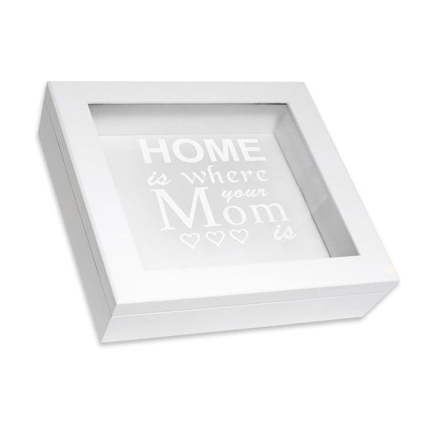 White Mother's Day Keepsake Box