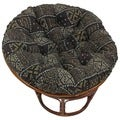 Blazing Needles Exotic Collection 44-inch Tapestry Papasan Cushion