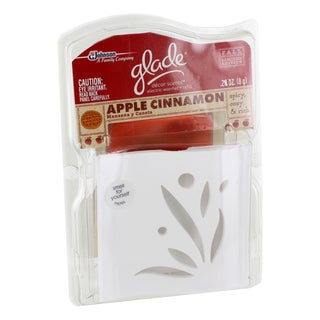Glade Apple Cinnamon Decor Scents with Electric Warmer & Refill (1 Set)