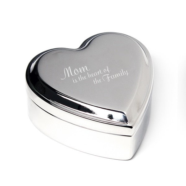 Mother's Day Heart Jewelry Box