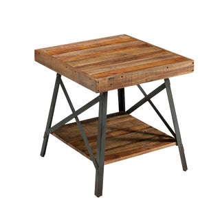 Emerald Chandler Reclaimed Wood End Table