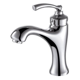 Elimax Luxury Short Chrome Single-handle Bathroom Faucet