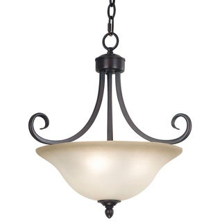 Mandrake 3-light Semi-flush Mount Ceiling Light