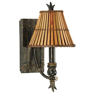 Alton Polynesian Paradise 1-light Bronze Wall Sconce