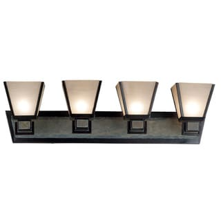 Paxton Dark Bronze 4-light Vanity