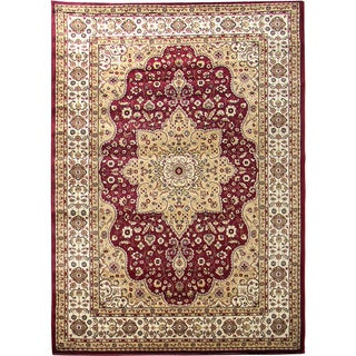 Tiffany 160 Burgundy Area Rug (5'x7')