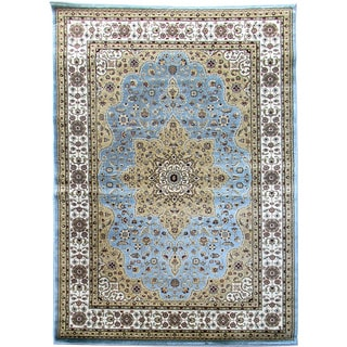 Tiffany 160 Sky Blue Area Rug (5'x7')
