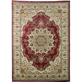 Tiffany 161 Burgundy Area Rug (5'x7')