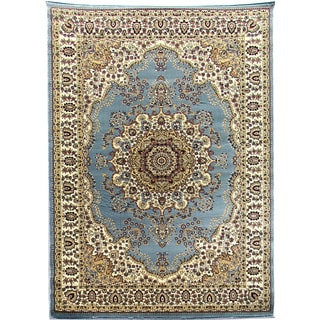 Tiffany 161 Sky Blue Area Rug (5'x7')